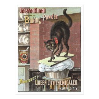 International Baking Powder, 1885 Postcard