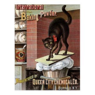 International Baking Powder, c. 1885 Postcard
