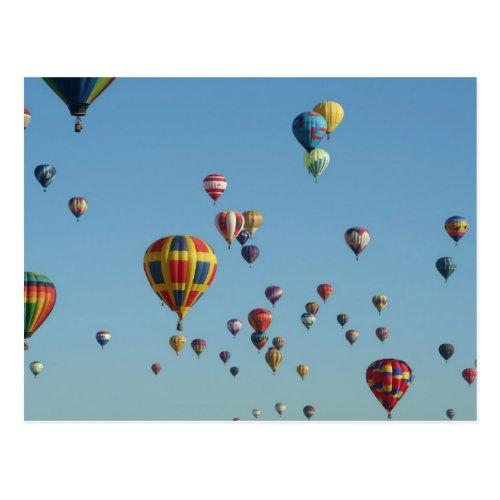 International Balloon Fiesta Postcard