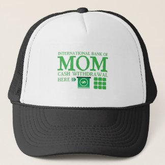 International bank of MOM (cash withdrawal here) Trucker Hat