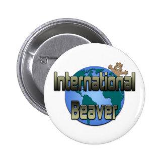International Beaver Button