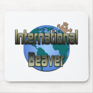 International Beaver Mouse Pad