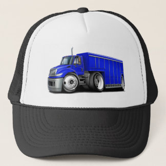 International Blue Delivery Truck.png Trucker Hat