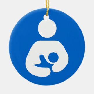 International Breastfeeding Symbol Ceramic Ornament
