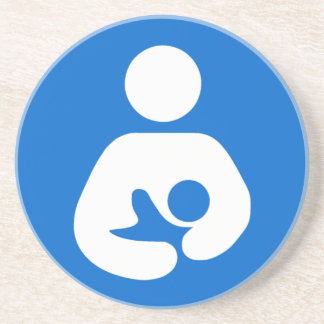 International Breastfeeding Symbol Drink Coaster