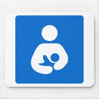 International Breastfeeding Symbol Mouse Pad