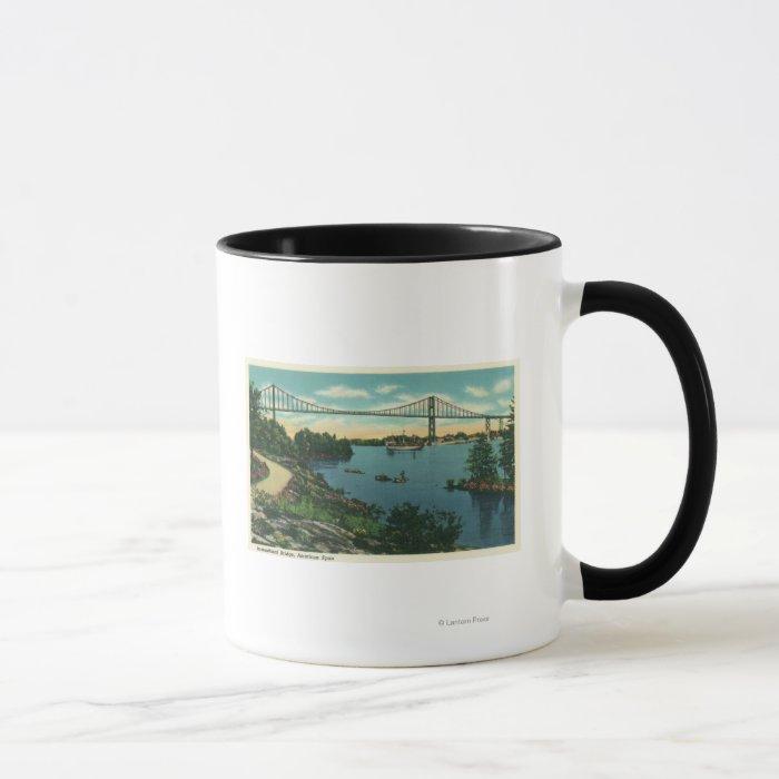 International Bridge American Span View # 2 Mug