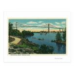 International Bridge American Span View # 2 Postcards