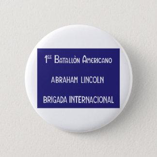 International Brigades Abraham Lincoln 1st Button