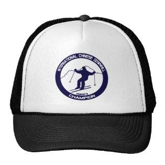 International Chinese Downhill Champion 1984 Trucker Hat