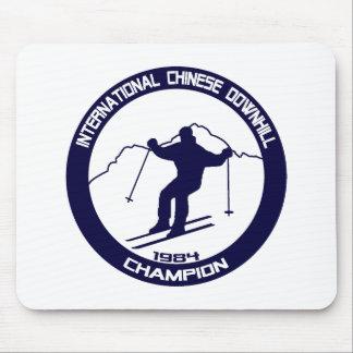 International Chinese Downhill Champion 1984 Mouse Pad