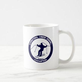 International Chinese Downhill Champion 1984 Classic White Coffee Mug