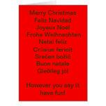 international christmas cards