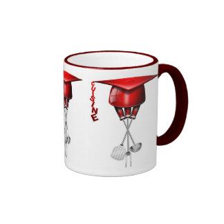 International cuisine ringer coffee mug