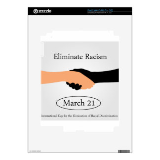 International day for the elimination of Racism Skins For The iPad 2