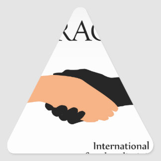 International day for the elimination of Racism Triangle Sticker