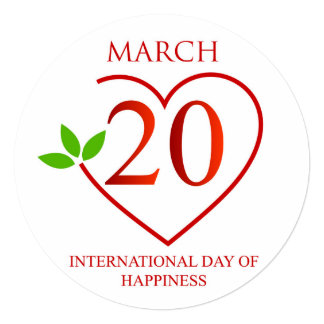 International Day of Happiness Card