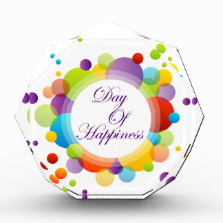 International Day of Happiness- Commemorative Day Acrylic Award