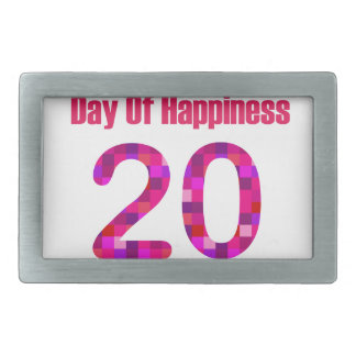 International Day of Happiness- Commemorative Day Belt Buckle