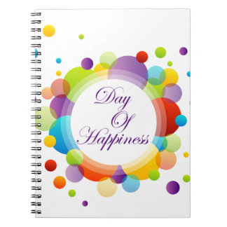 International Day of Happiness- Commemorative Day Notebook