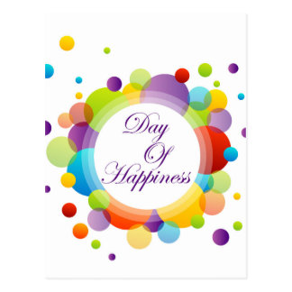 International Day of Happiness- Commemorative Day Postcard