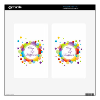 International Day of Happiness- Commemorative Day Skins For Kindle Fire