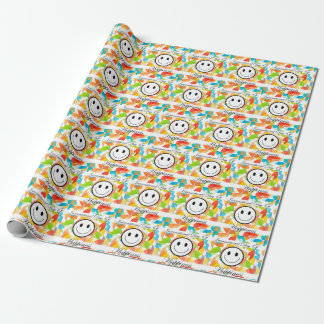 International Day of Happiness- Commemorative Day Wrapping Paper