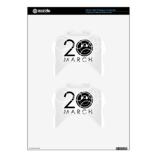 International Day of Happiness- Commemorative Day Xbox 360 Controller Skin