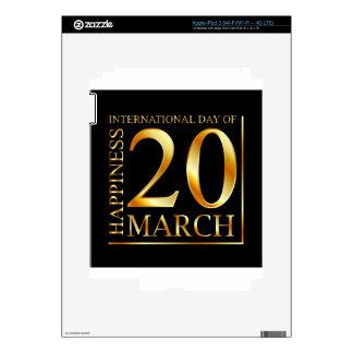 International Day of Happiness iPad 3 Skins
