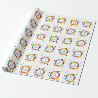 International Day of Happiness Wrapping Paper