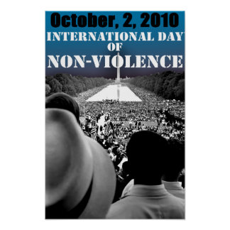INTERNATIONAL DAY OF NON-VIOLENCE POSTER