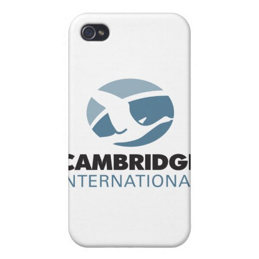 International de Cambridge iPhone 4 Protectores
