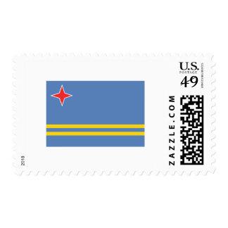 International de la BANDERA de Aruba Timbres Postales