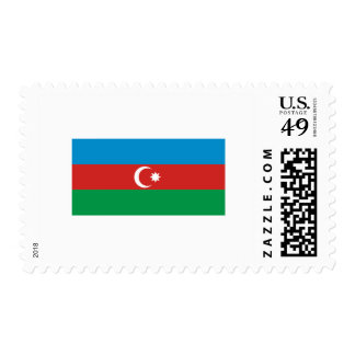 International de la BANDERA de Azerbaijan Sellos