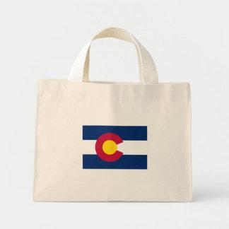 International de la BANDERA de Colorado Bolsa Tela Pequeña