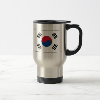 International de la BANDERA de Corea Tazas