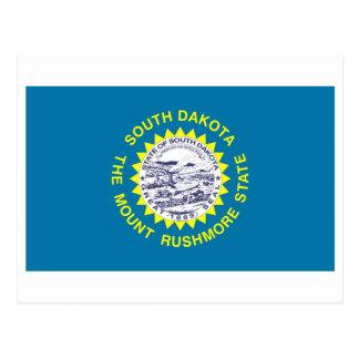 International de la BANDERA de Dakota del Sur Tarjetas Postales