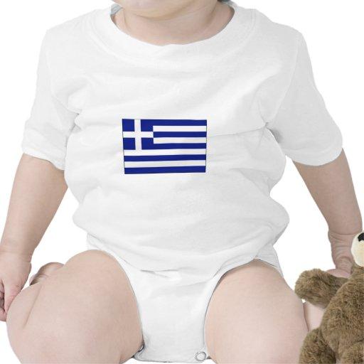 International de la BANDERA de Grecia Trajes De Bebé