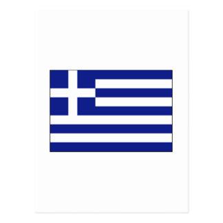 International de la BANDERA de Grecia Postales