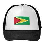 International de la BANDERA de Guyana Gorros Bordados