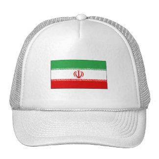 International de la BANDERA de Irán Gorras