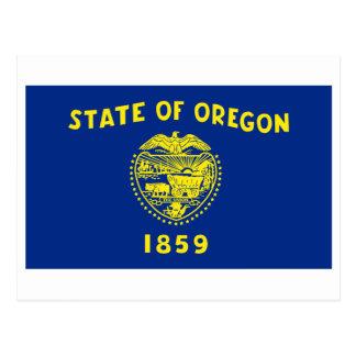 International de la BANDERA de Oregon Postales