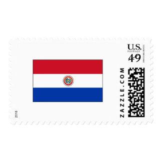 International de la BANDERA de Paraguay Sello
