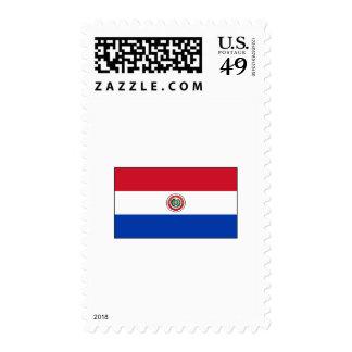 International de la BANDERA de Paraguay Sellos