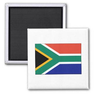 International de la BANDERA de Suráfrica Imán Cuadrado