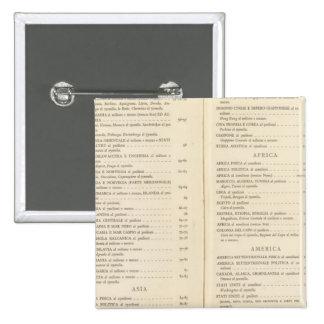 International del atlas pin cuadrada 5 cm