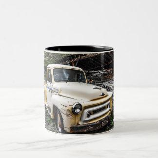 International del vintage taza de dos tonos