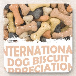 International Dog Biscuit Appreciation Day 1 Coaster
