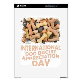 International Dog Biscuit Appreciation Day 1 Skins For iPad 2
