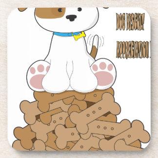 International Dog Biscuit Appreciation Day Coaster